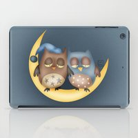 owls iPad Cases featuring Owls by Catru