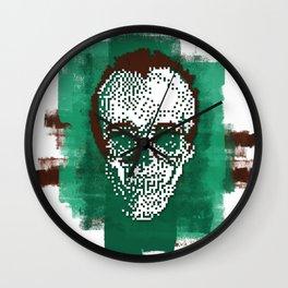 Keith POSTportrait Wall Clock