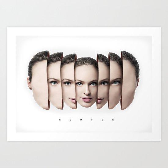 R.U.M.O.U.R Art Print