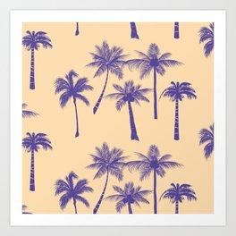 palmeras Art Print