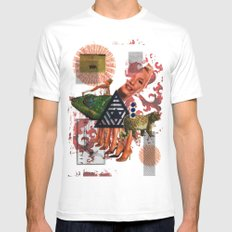 What Went Before Part 2 MEDIUM White Mens Fitted Tee