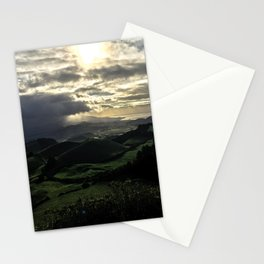 Bright Sun on a Cloudy Day Stationery Cards
