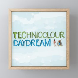 Technicolour Daydream Framed Mini Art Print