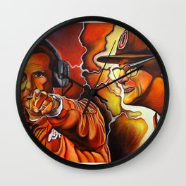 Frequency of Champions Wall Clock