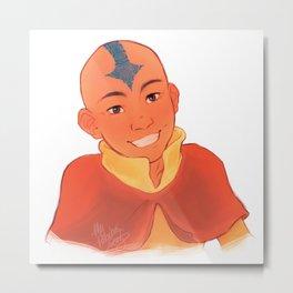 Aang Metal Print