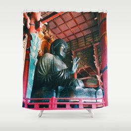 big buddha Shower Curtain
