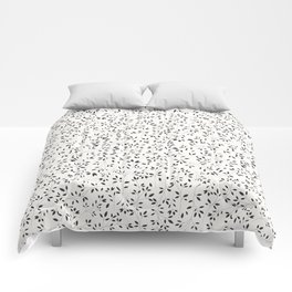 Delicate flora 001 Comforters