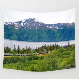 Alaska Passenger Train - Bird Point Wall Tapestry