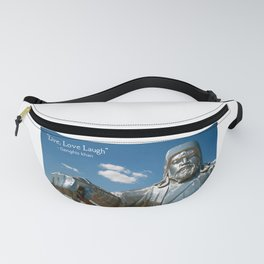 Genghis Khan quote Fanny Pack