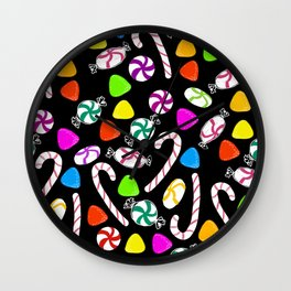 Holiday Sweets - Night Wall Clock