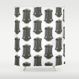 Chain Mail Shower Curtains