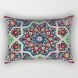 V16 Special Colored Traditional Moroccan Design. Rectangular Pillow