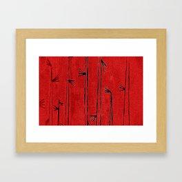 motivated violence Framed Art Print