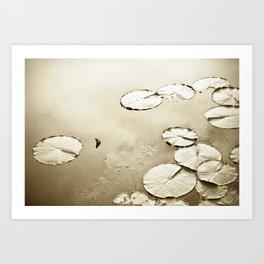 floating world 4 Art Print