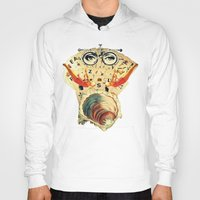 psychology Hoodies featuring Mystical uterus by Laura Nadeszhda