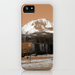 Old Time McCloud iPhone Case