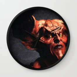 Lord of Darkness Wall Clock