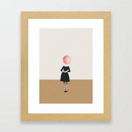 Obvious imperfections Framed Art Print