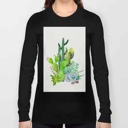 Cactus Garden II Long Sleeve T-shirt