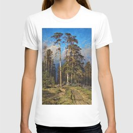 'The Word for World is Forest' by Ivan Shishkin T-shirt