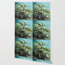 Gustave Courbet - Flowering Branches And Flowers Wallpaper