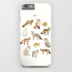 Foxes Slim Case iPhone 6