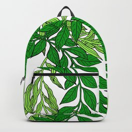 Green Vines1 Backpack
