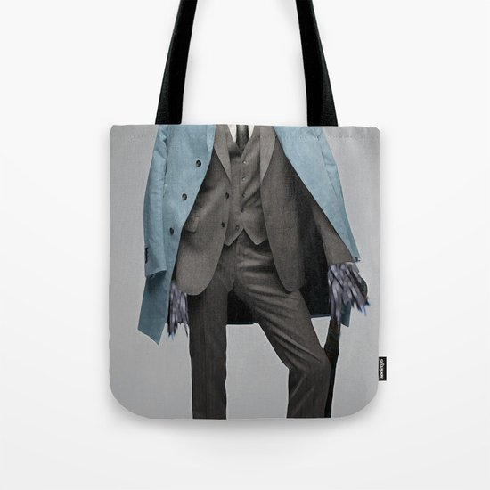 dapper crow Tote Bag