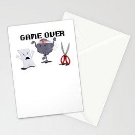 Karate-Paper-Scissors Stationery Cards