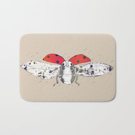 Ladybug - spread your wings Bath Mat