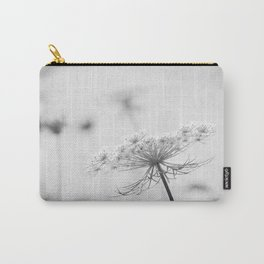AFE Queen Anne's Lace BW Carry-All Pouch