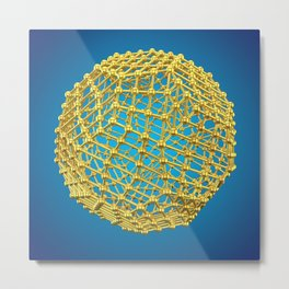 Atom Array Metal Print