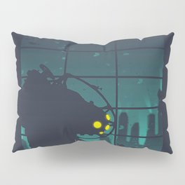 bioshock big daddy Pillow Sham