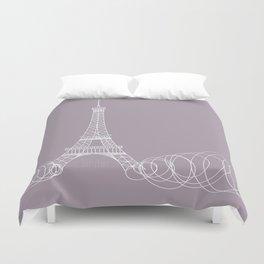 Paris by Friztin Duvet Cover