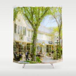 Main Street, Falmouth, Cape Cod Shower Curtain
