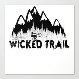 Wicked Trail Canvas Print