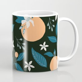 Orange You Glad- Dark Coffee Mug