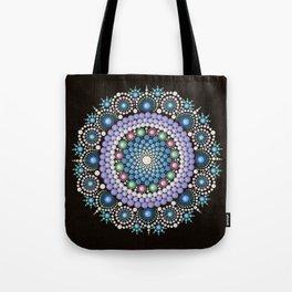 Dot Art Mandala Tote Bag