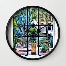 Window to the West Wall Clock