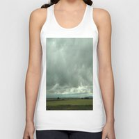 spain Tank Tops featuring Spain Countryside by Rosie Brown