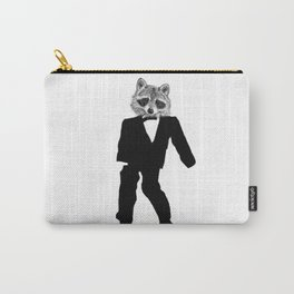 Twisted Raccoon Carry-All Pouch