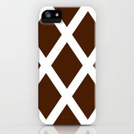 Cross Hatch iPhone Case