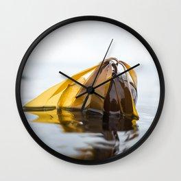 Bull Kelp Love Wall Clock