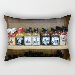 The Hot Sauce Isle Rectangular Pillow