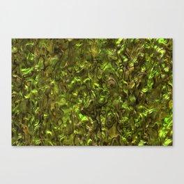 Abalone Shell | Paua Shell | Yellow Tint Canvas Print