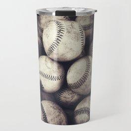 Bucket of Baseballs Travel Mug