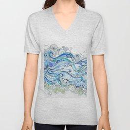 Ocean Seaweed Unisex V-Neck