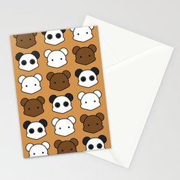 Three Little Bears Stationery Cards