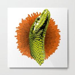 Snake - Serpiente Metal Print