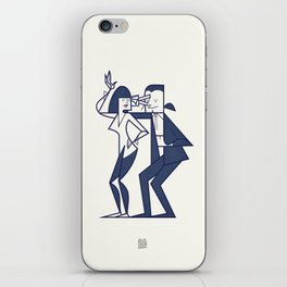 Just shut the fuck up and love me iPhone Skin